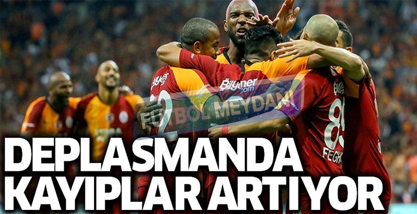 Galatasaray'ın Dış Saha Sorunu Sürüyor