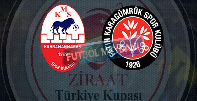 Kahramanmaraşspor Karagümrük 1-4 Maç Sonucu
