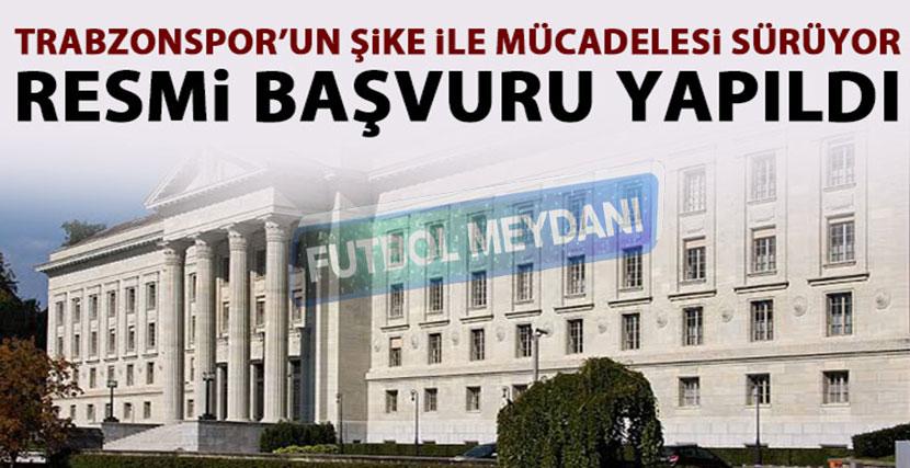 Trabzonspor, Şike Davasını İsviçre Federal Mahkemesi'ne Taşıdı