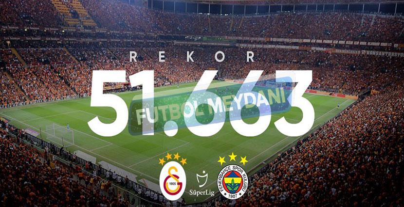 Türk Telekom Stadyumu'nda Seyirci Rekoru