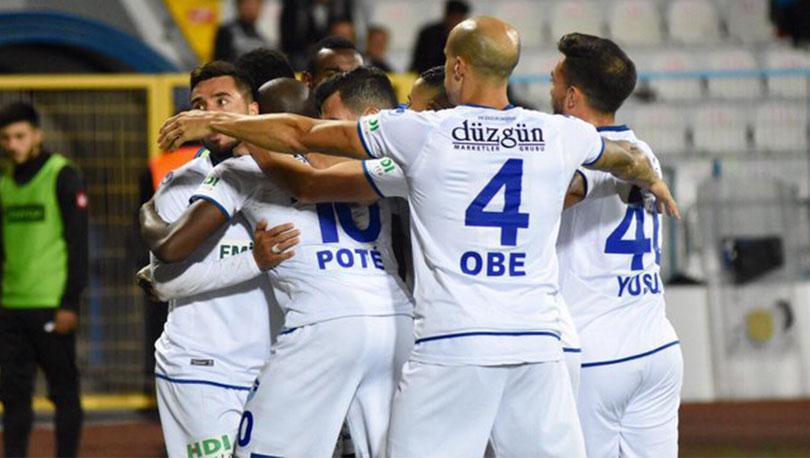 Erzurumspor, Ligdeki 2.Galibiyetini Aldı