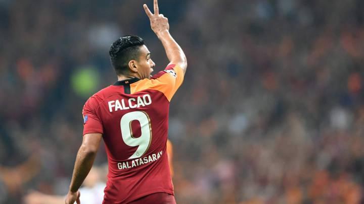 Falcao'nun Sivasspor Maçında Forma Giymesi Beklenmiyor