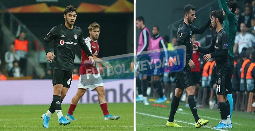 Kartal Yılmaz, Beşiktaş'ta İlki Yaşadı