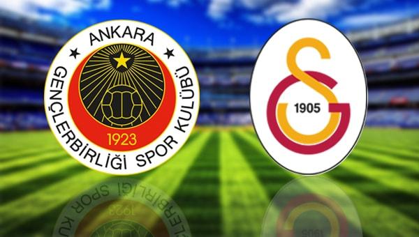 Galatasaray'ın Muhtemel Gençlerbirliği 11'i