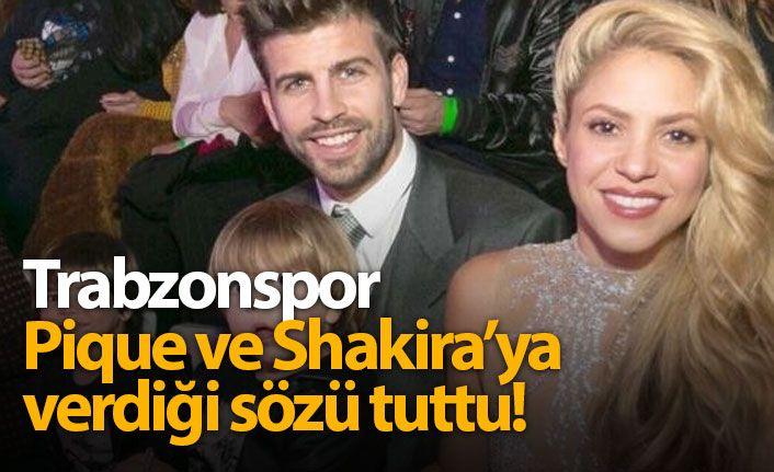 Trabzonspor'dan Gerard Pique'ye Forma