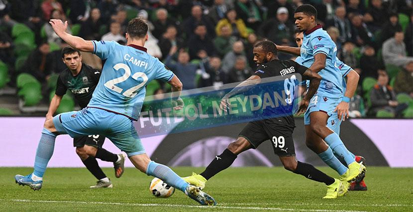 Trabzonspor'un Avrupa'daki Ümitleri Tükendi