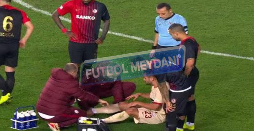 Andone, Gaziantep Maçını Tamamlayamadı