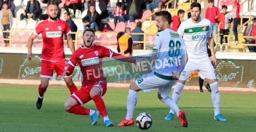 Boluspor Bursaspor Maçından Kazanan Çıkmadı
