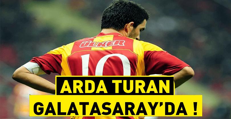 Arda Turan, Galatasaray'a Geliyor