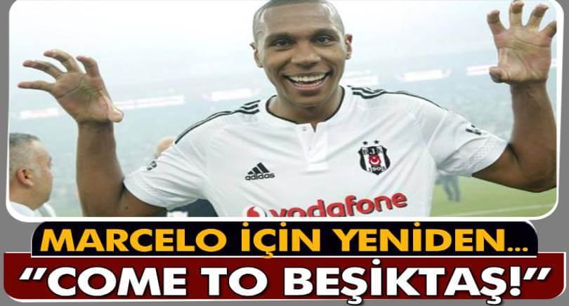 Beşiktaş, Marcelo'nun Peşinde
