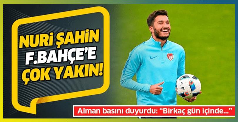 Fenerbahçe'de Nuri Şahin Sürprizi