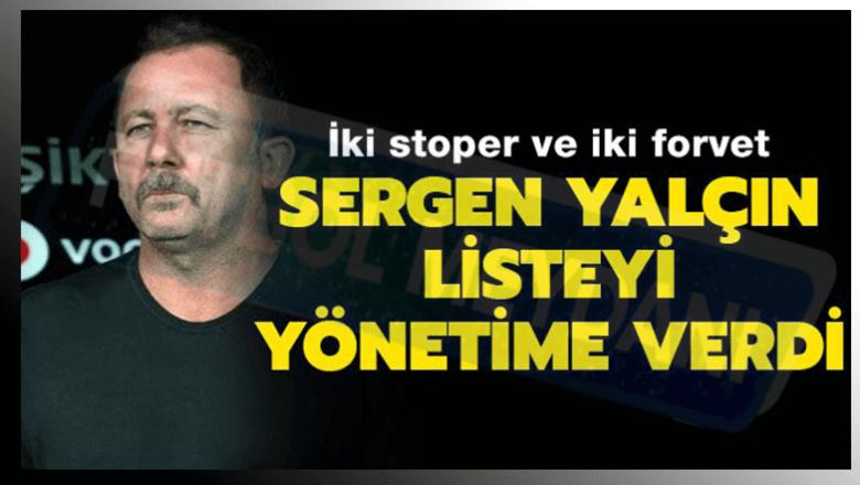 Sergen Yalçın'ın Transfer Politikası