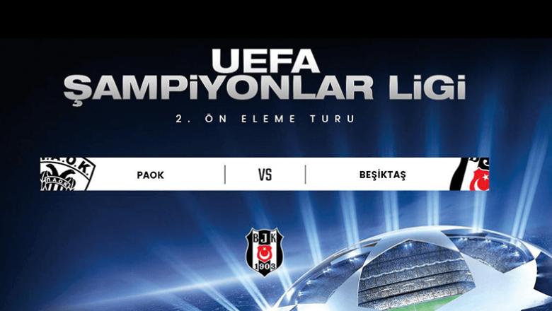 Beşiktaş, Şampiyonlar Ligi'ndeki Rakibi PAOK oldu