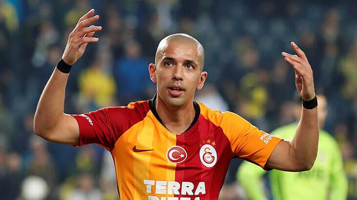 Feghouli'den Galatasaray'a rest