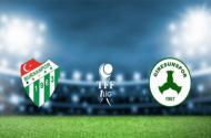 Bursaspor Giresunspor | Canlı İzle