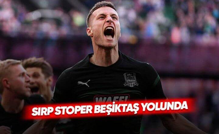 Beşiktaş, Uros Spajic'i Gündemine Aldı