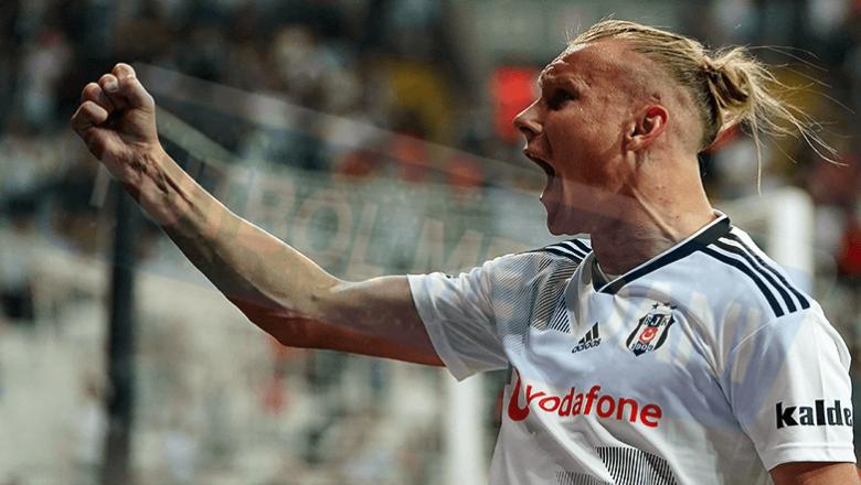 Beşiktaş'ta Vida ayrılıyor